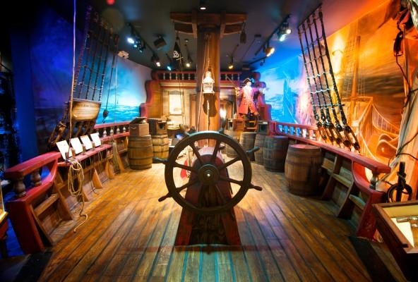 Pirate Museum Main Deck