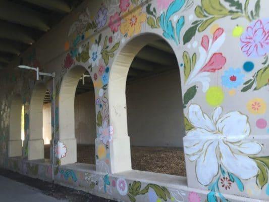 Detroit Dequindre Cut mural