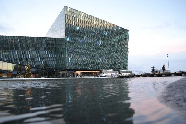 Winter Holidays in Iceland Harpa Hall