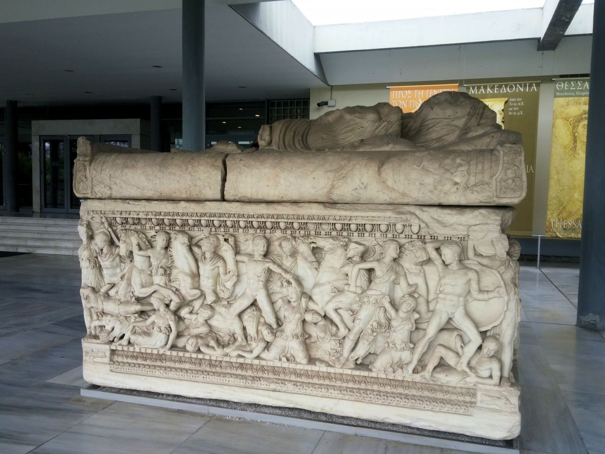 Thessaloniki Greece Archaeological Museum