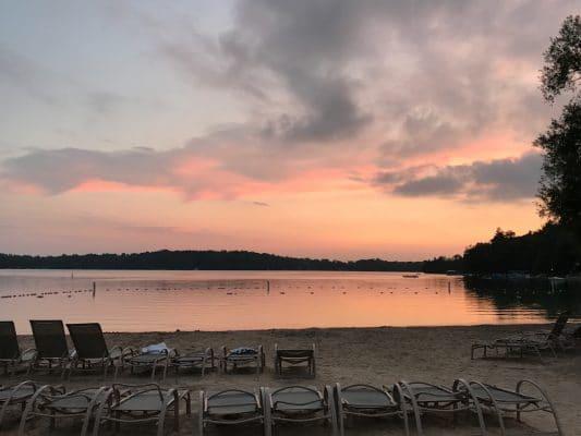 Elkhart Lake Osthoff beach