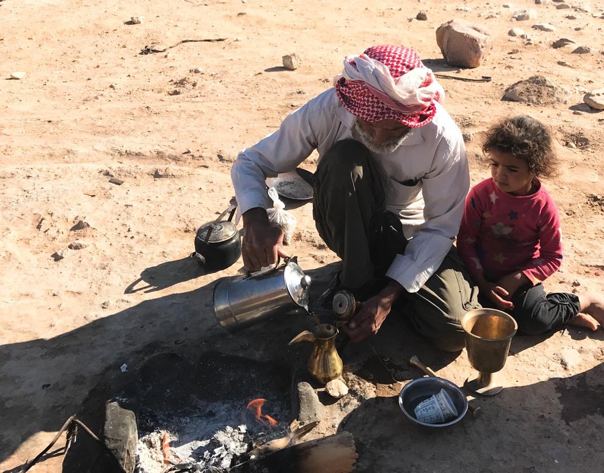 Bedouin coffee Jordan culinary moments