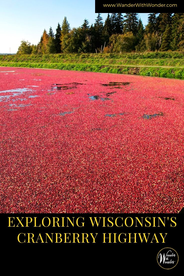 Get out for a Wisconsin road trip to explore where those gorgeous red cranberries come from. We take you for a fun trip through cranberry country in Wisconsin along the Wisconsin Cranberry Highway.