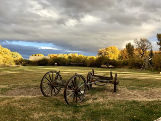 Guest ranches in the west