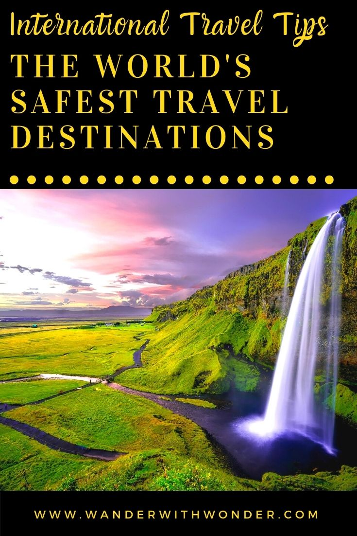 If you love traveling, but you want to do so safely, check the world's safest travel destinations according to the Global Peace Index.