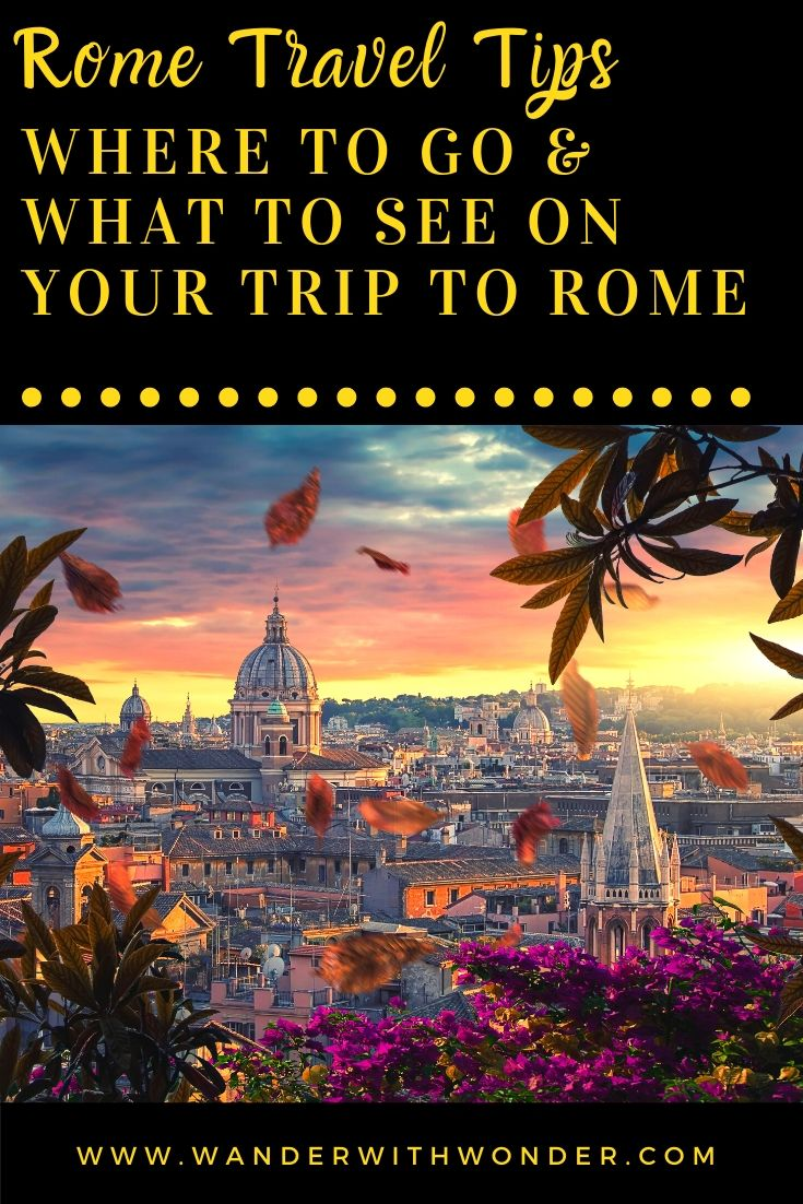 Planning a bucket list trip to Rome for the future? Here are some travel tips as you plan where to go and what to do on your trip to Rome, Italy. This sponsored article shows the 10 best tips as you plan that bucket list trip to Rome.