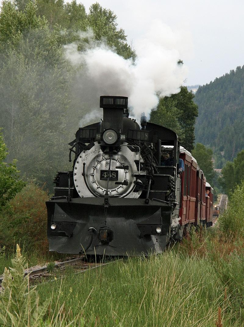 Cumbres & Toltec Railroad - Fall Colors in the Southwest