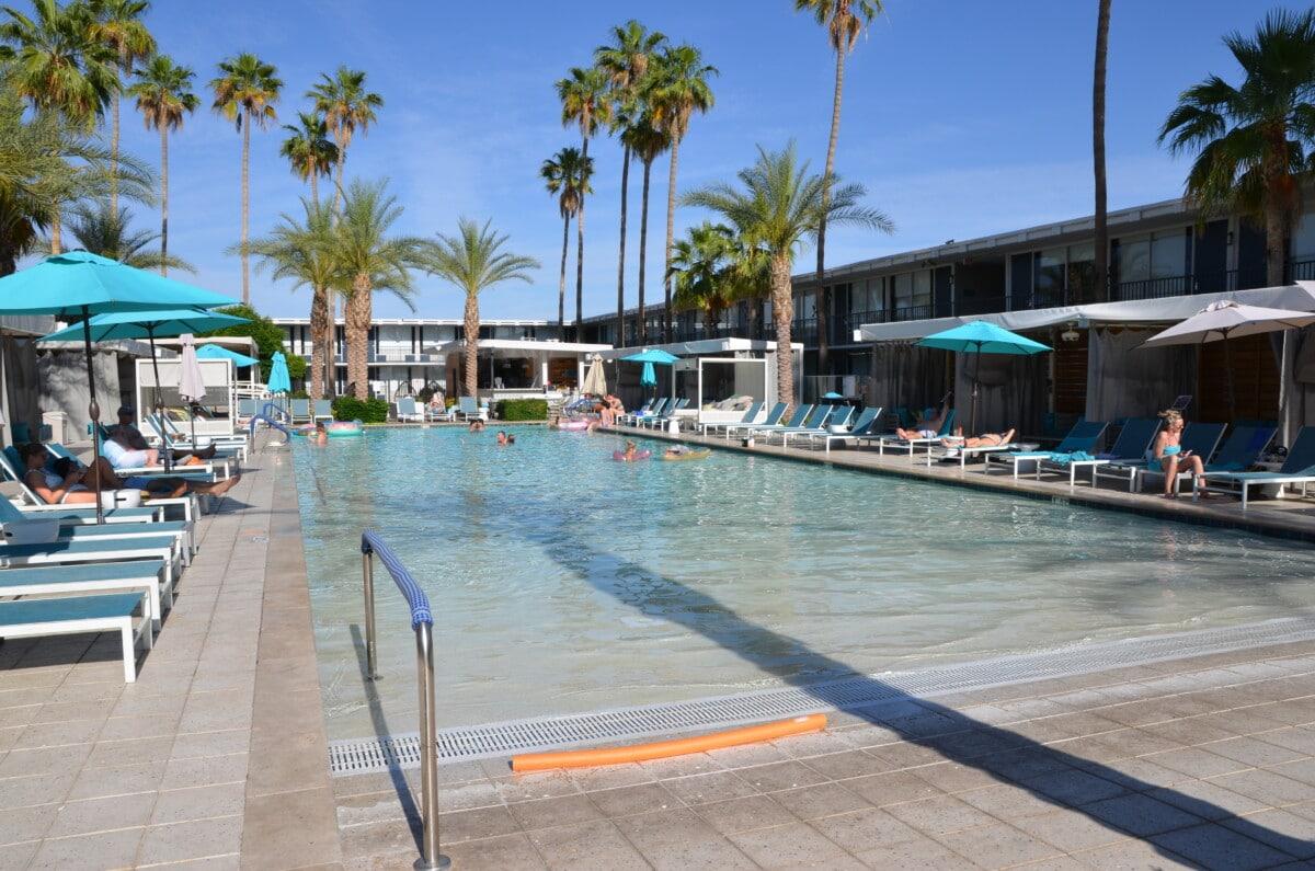 The zero-edge pool at Hotel Adeline. Photo by Teresa Bitler