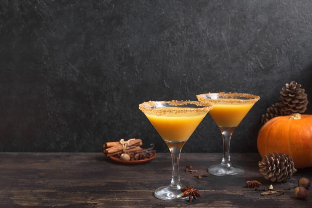 fall cocktails cocktail martini pumpkin