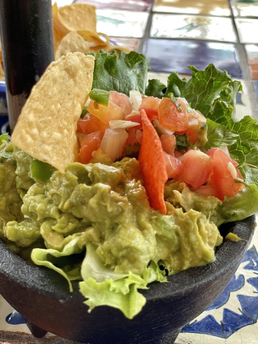 Guacamole at La Margarita. Photo by Penny Sadler