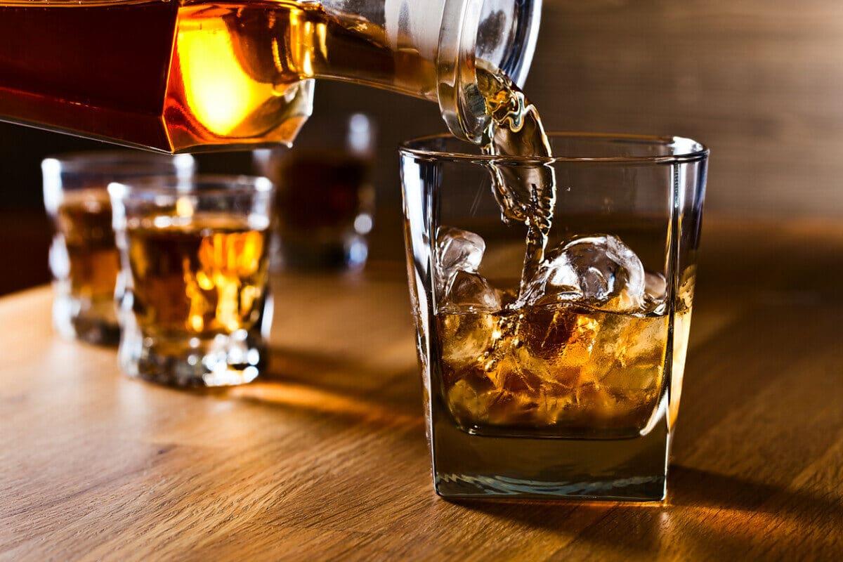 Whiskey craft distilleries