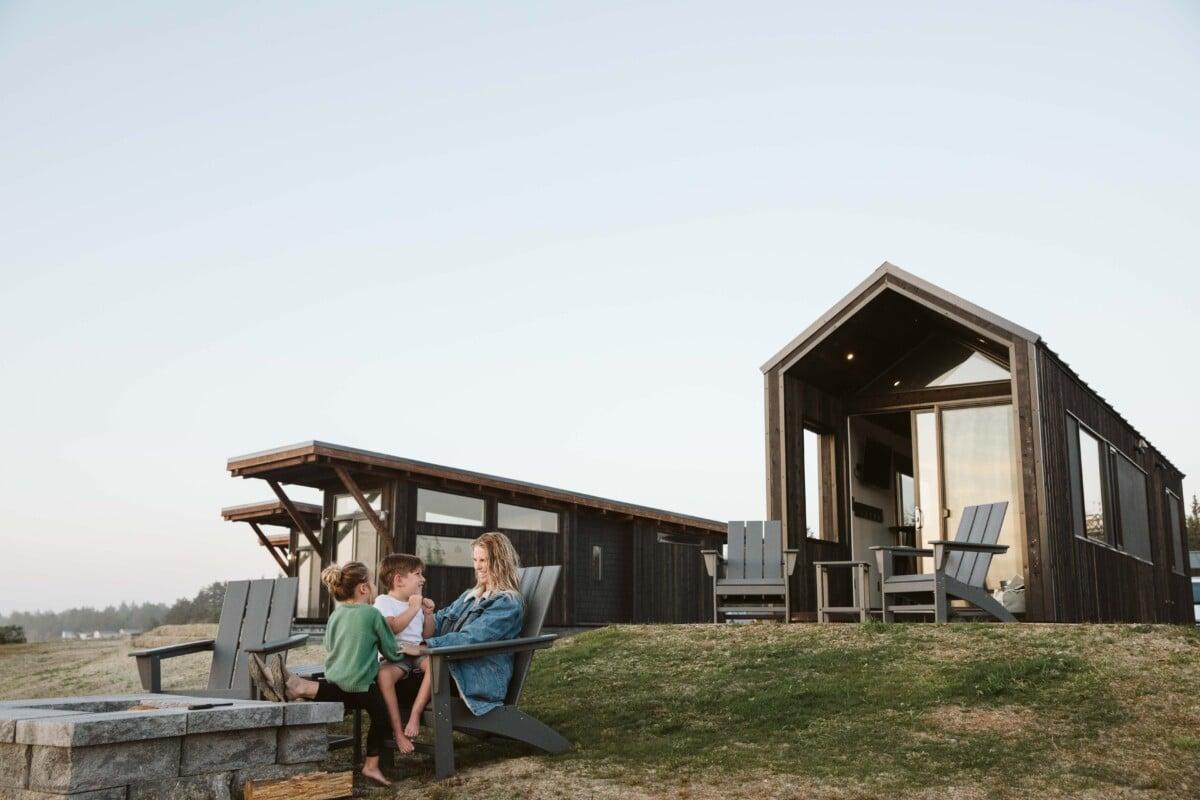 Cabins at Bay Point Landing Coos Bay Oregon