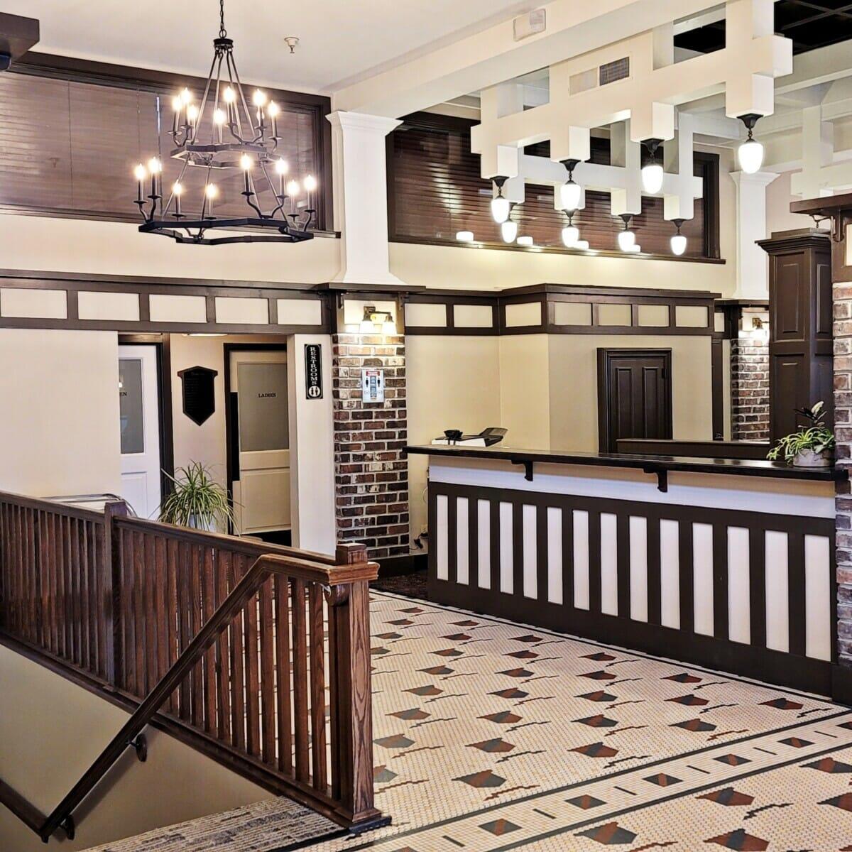haunted hotel lobby