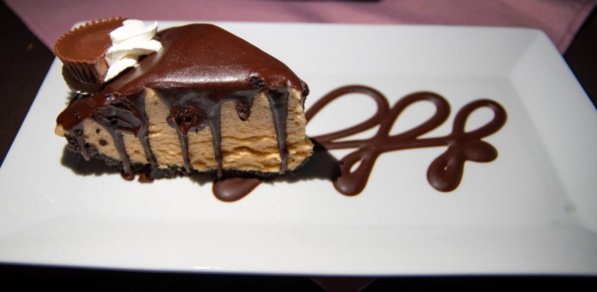 Eating peanut butter pie is always a good thing to do in Coos Bay Oregon