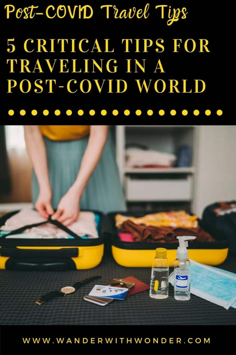 After more than 18 months, many people are ready for a big adventure. However, COVID-19 remains a threat. Here are a few tips that everyone can consider when traveling in a post-COVID world. #pandemictravel #sponsored