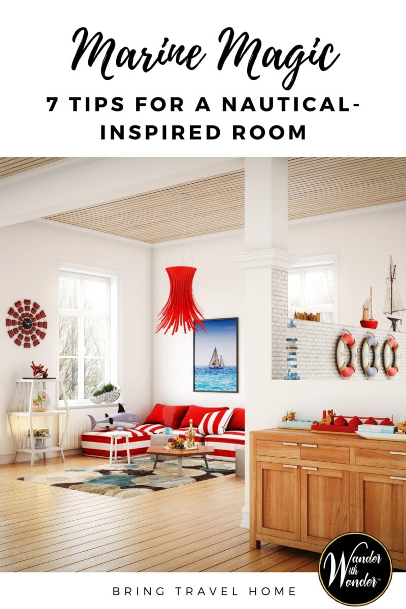 Nautical interiors are a design trend that has stood the test of time. With such a clean and classic aesthetic, making your home stand out from the crowd can be hard. If you're looking for a little inspiration to liven up your marine-themed space and make you feel as though you live on the seas, read our ideas for creating a nautical-inspired room.