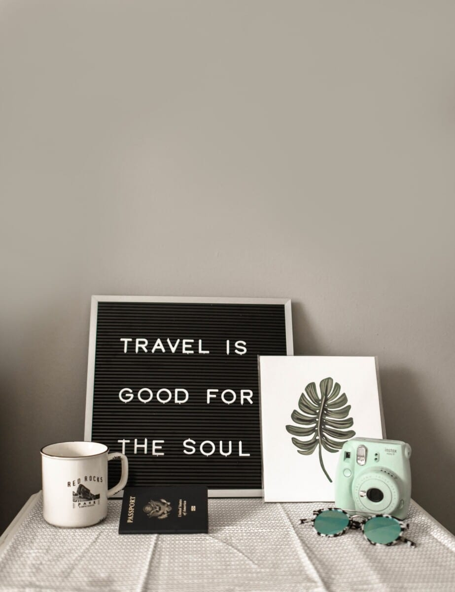 Designing with a travel theme