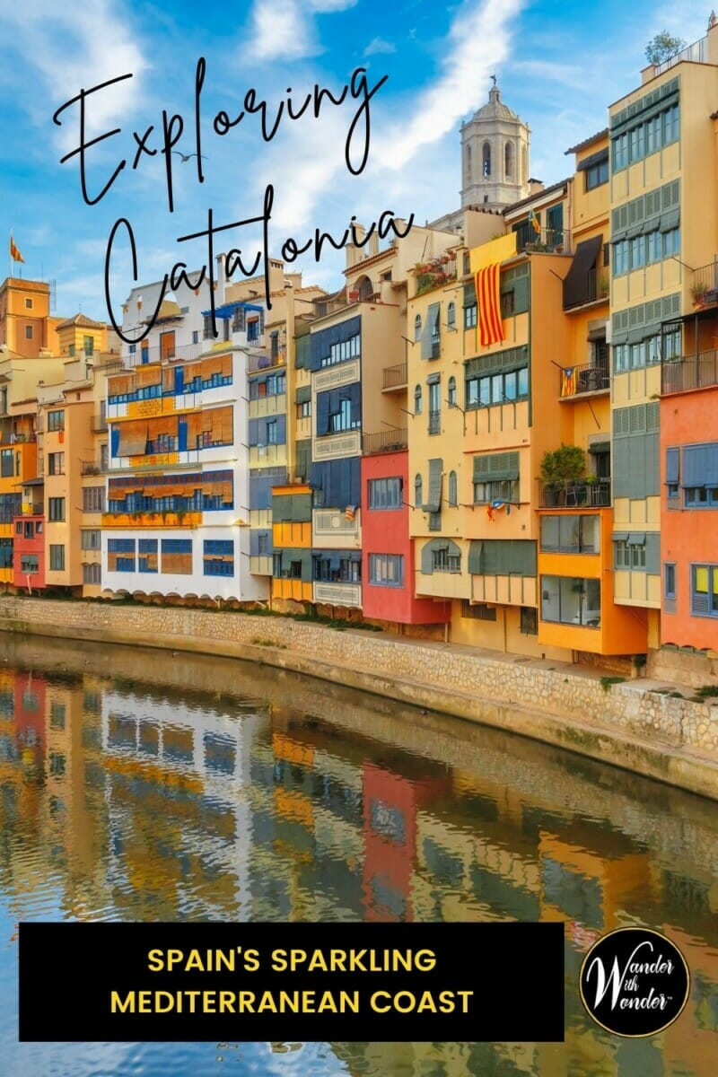 Exploring Catalonia in Spain includes wandering the vibrant capital city, Barcelona, Costa Brava beaches, and wineries making sparkling Cava. Catalonia is a diverse region where you'll find the best of Spanish coastal cuisine, can hang out at a late-night tapas bar, and explore the narrow streets of ancient villages. While exploring Catalonia, you'll discover a unique culture and history, surprising art and architecture, and fall in love, as I did, with sparkling Cava and the beauty of the land.