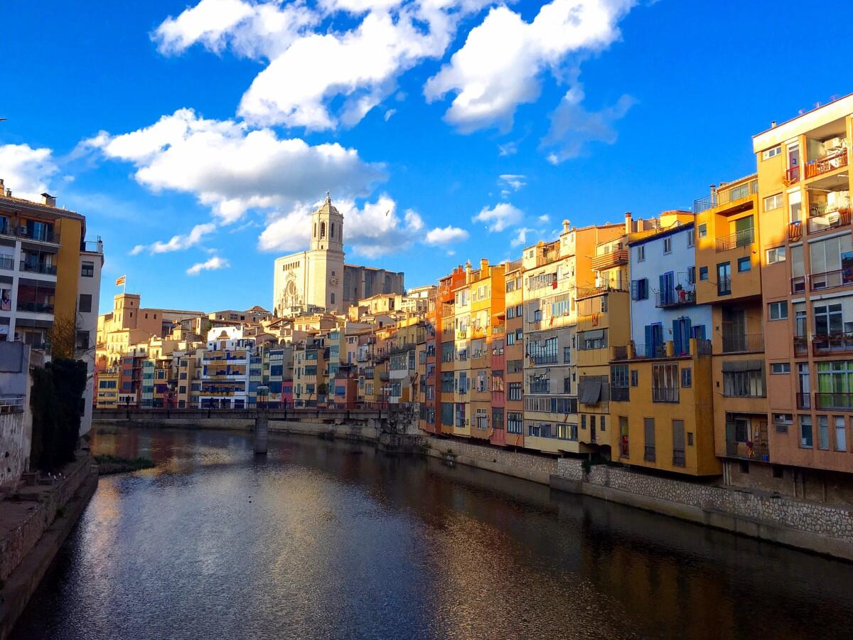 Exploring Catalonia - town of Girona
