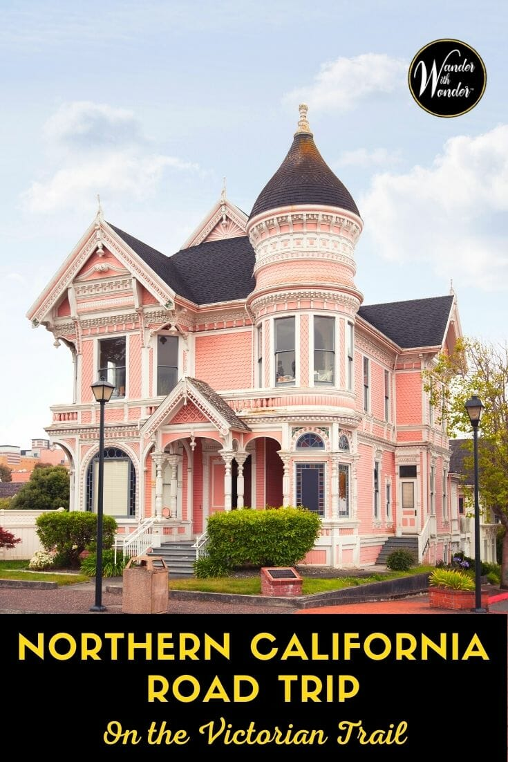 You can discover magnificent examples of Victorian architecture, built in the late 1800s, on a Northern California road trip.Each tells a unique story of California's boom and bust in the 1800s. Find out the different type of Victorian architecture, where to see the best examples of these gorgeous homes, and what to do when you visit. Plan your Northern California road trip to see these beautiful Victorian homes.
