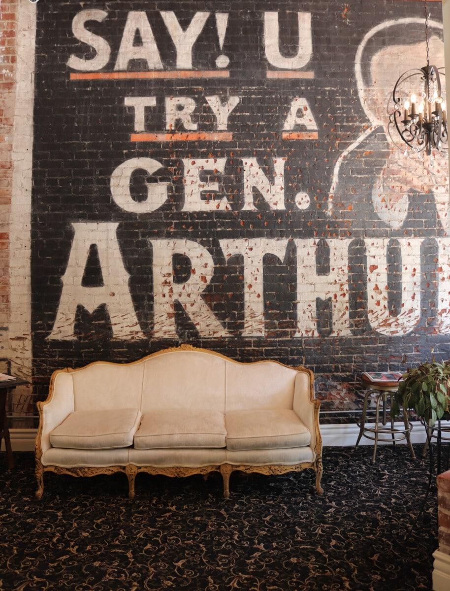 General Arthur Cigar Ad