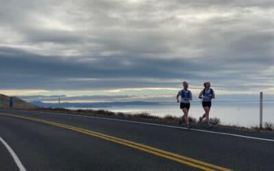 Running the San Juan Island Half Marathon