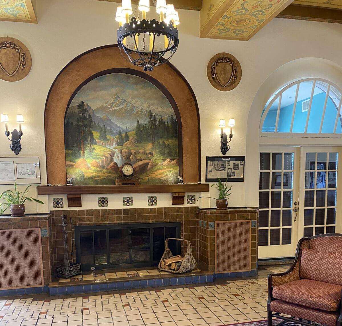 Hassayampa Inn Fireplace