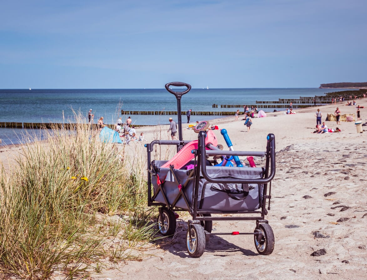 best beach trolley