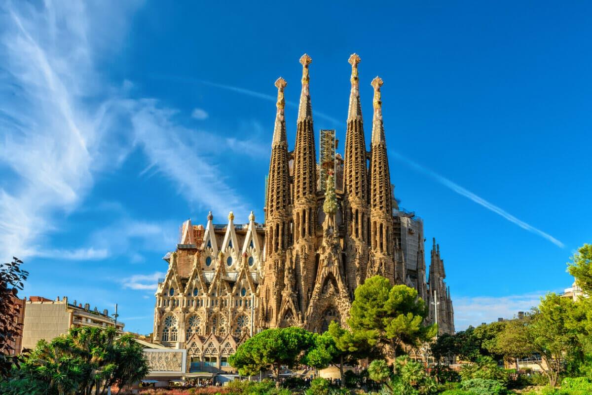 Exploring Catalonia - Cathedral of La Sagrada Familia in Barcelona
